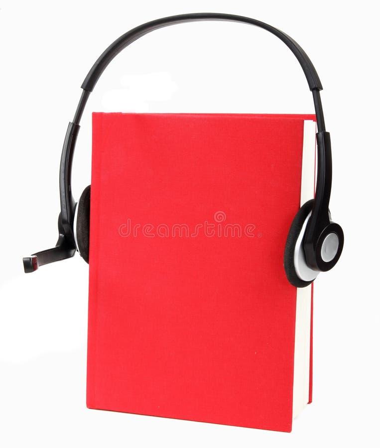 Livros audio imagem de stock royalty free