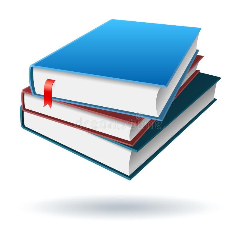 Livros/cadernos 2 ilustração do vetor