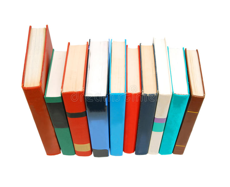Livros coloridos imagem de stock royalty free