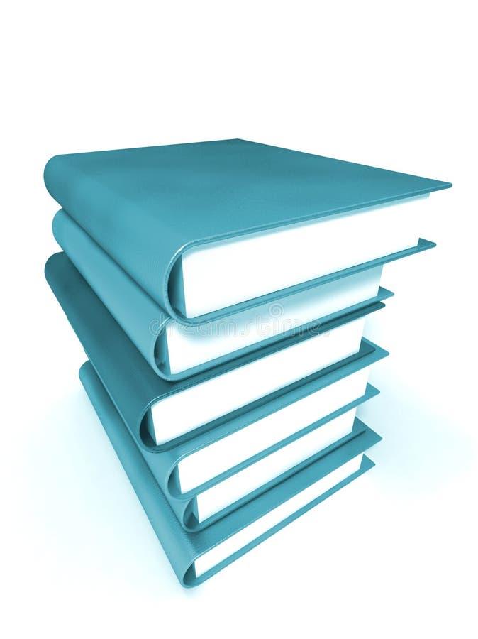 Livros coloridos #2 maciço fotos de stock royalty free