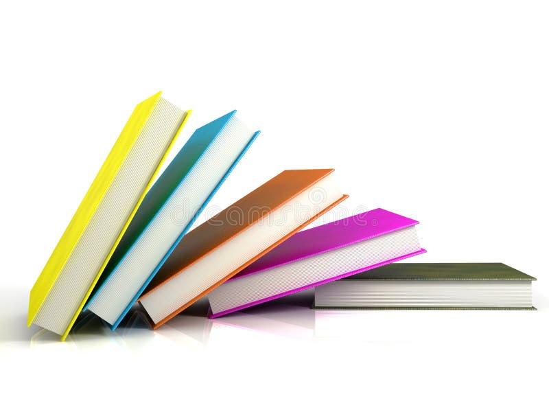 Livros coloridos fotos de stock royalty free
