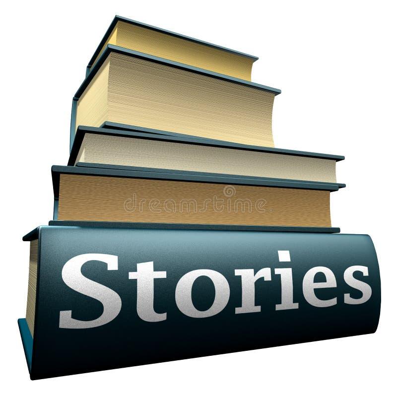 Livros da instrução - histórias ilustração do vetor