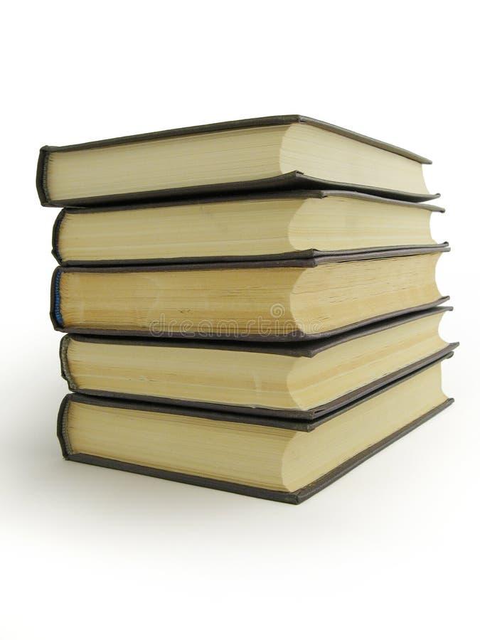 Livros da pilha ilustração stock