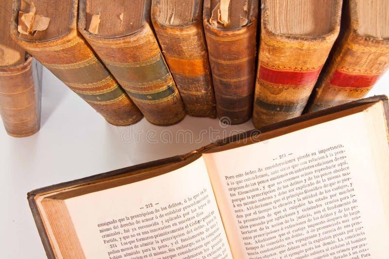 Livros de lei imagem de stock royalty free