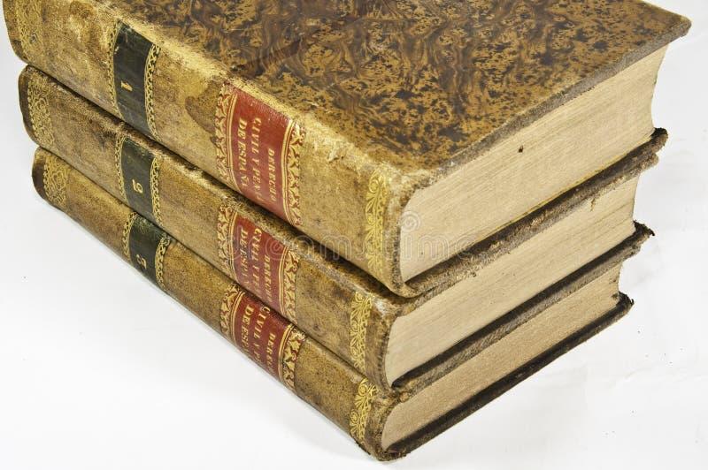 Livros de lei fotografia de stock