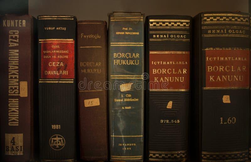Livros de lei velhos fotos de stock royalty free