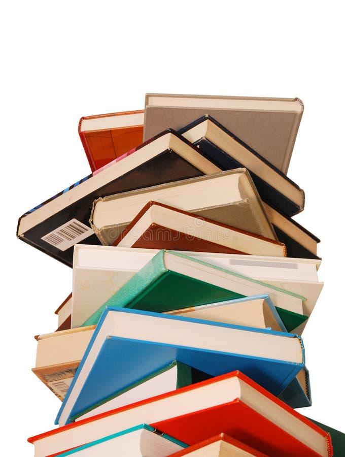 Livros de texto foto de stock