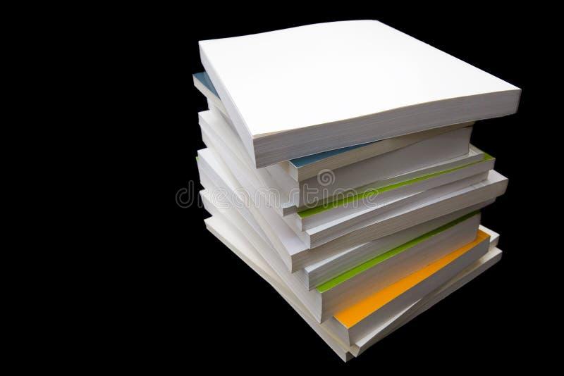 Livros do rascunho fotografia de stock royalty free