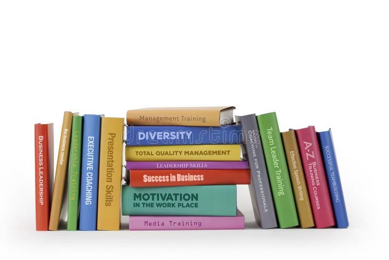Livros do treinamento do negócio fotos de stock royalty free