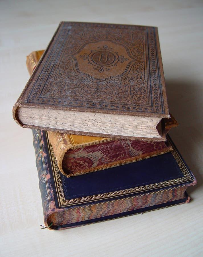 Livros do vintage foto de stock