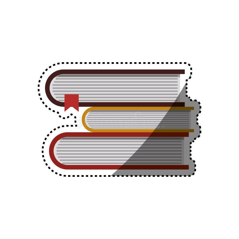 Livros e instrução ilustração do vetor