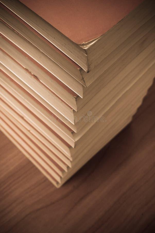 Livros envelhecidos fotografia de stock