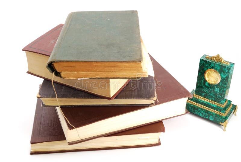 Livros velhos fotografia de stock