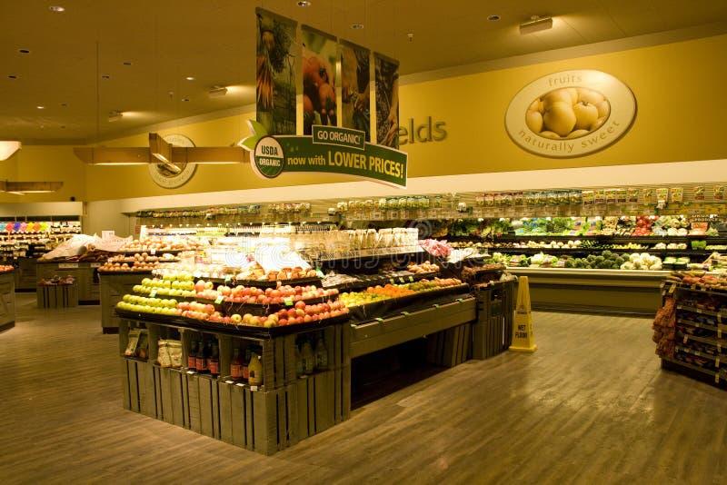 Livsmedelsbutiksupermarket arkivbild