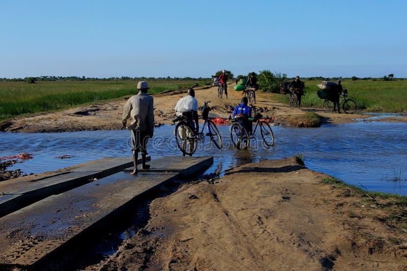 Livsstil Mocambique arkivbilder
