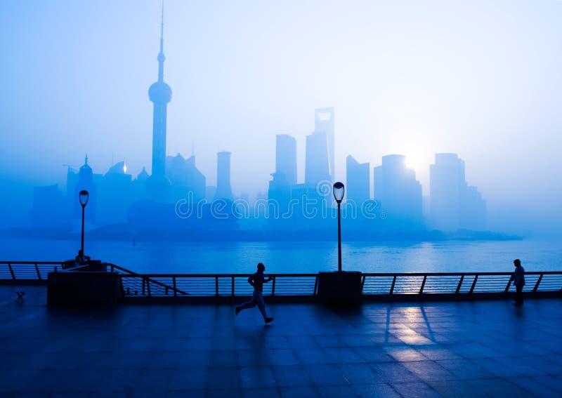 livstid shanghai arkivbild