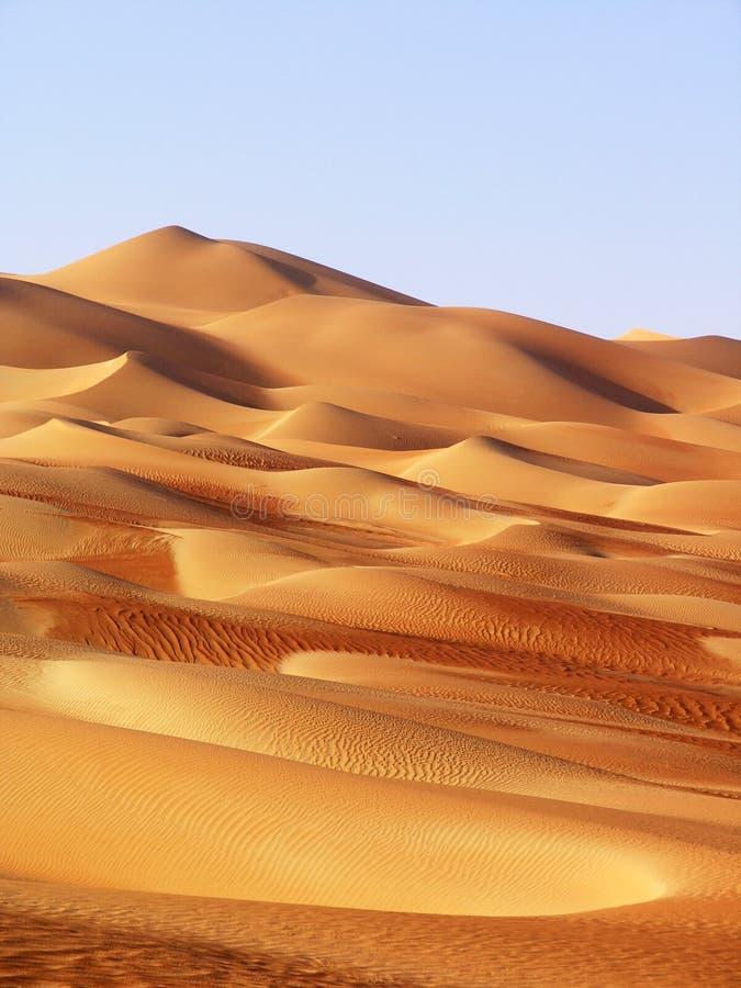 Liwa pustynia, Środkowy Wschód zdjęcia royalty free