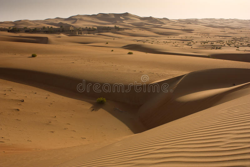 Liwa pustynia, Abu Dhabi zdjęcie royalty free