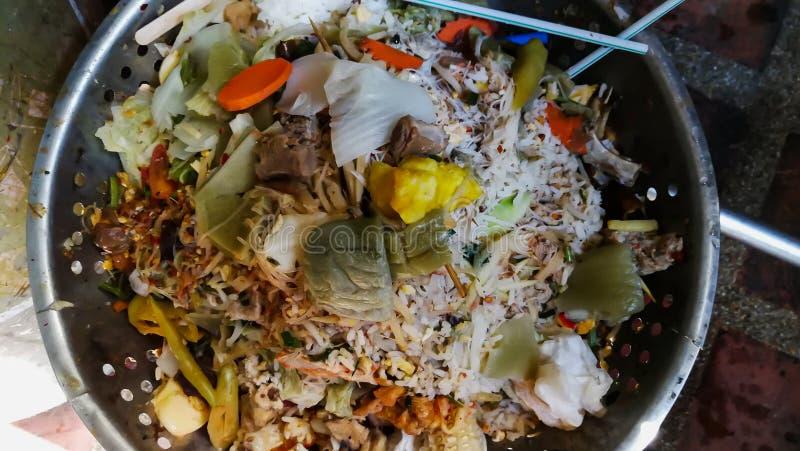 Lixo, alimento, vegetal, ambiente, hortali?as fotografia de stock