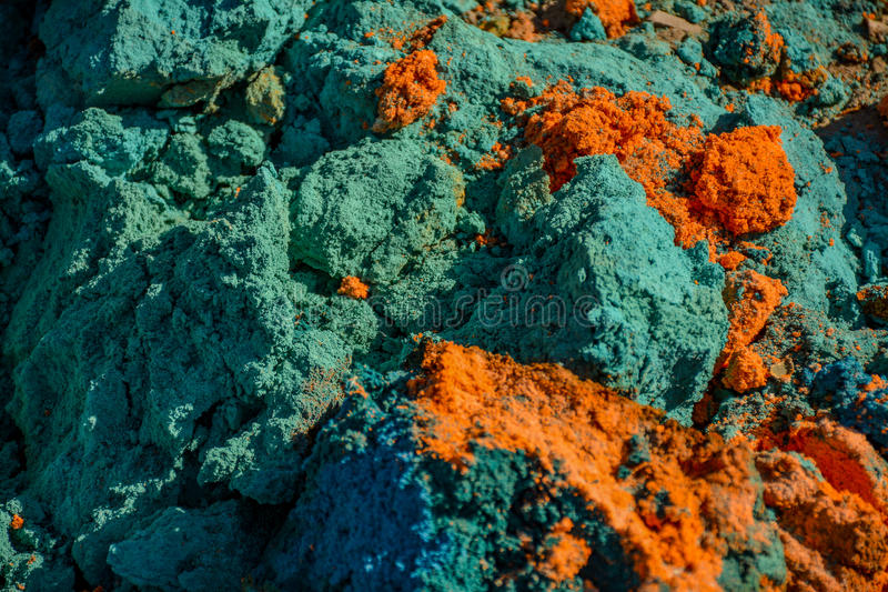 lixo Multi-colorido foto de stock