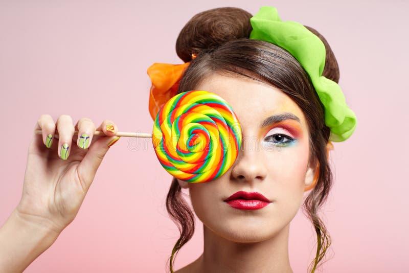 lizaka piękny model zdjęcie royalty free