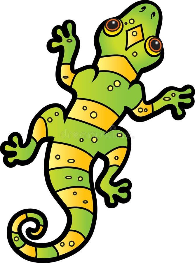 Lizard stock illustration
