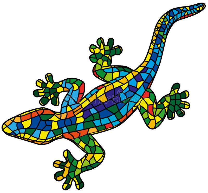 Lizard royalty free illustration