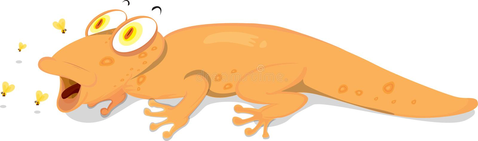 Download A Lizard Catching Prey Royalty Free Stock Photography - Image: 14274517