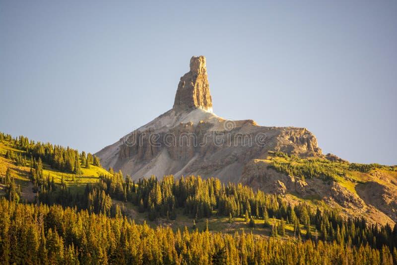 Lizard Head Peak Mountain in the Colorado Rockies at Dawn.  royalty free stock photography