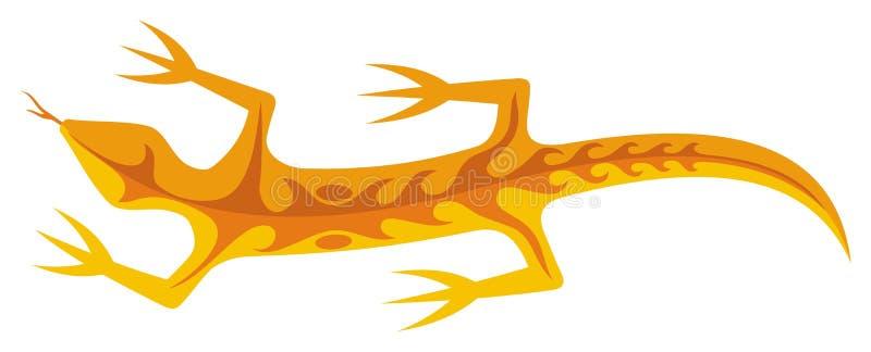 Lizard Orange photographie stock