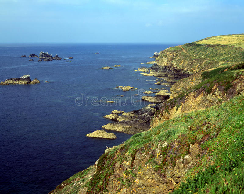 Lizard Point stock image. Image of cornwall, lizard, southerly ...
