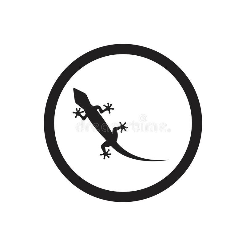 Lizard vector icon logo and symbols template - Vector. Lizard vector icon logo and symbols template stock illustration