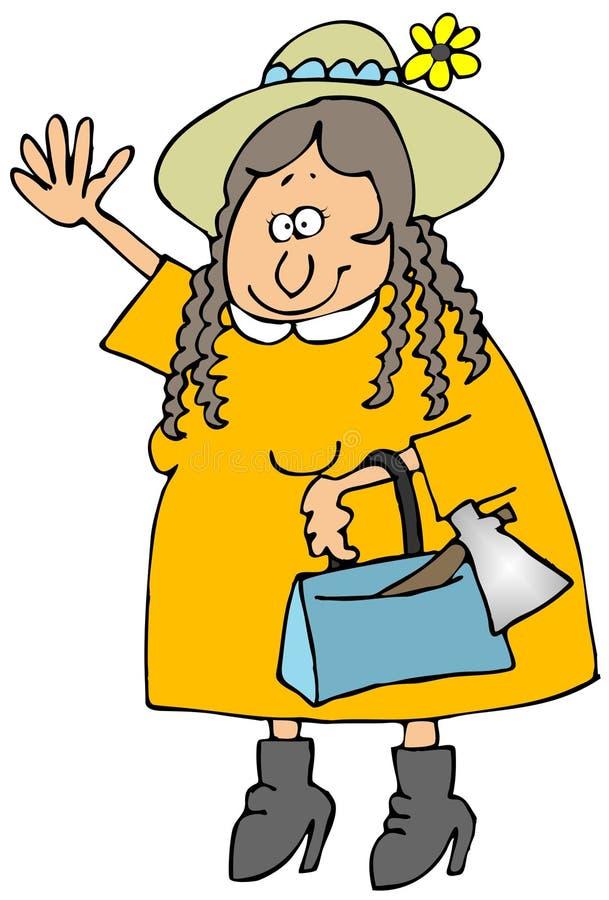 Lizzie B illustrazione vettoriale