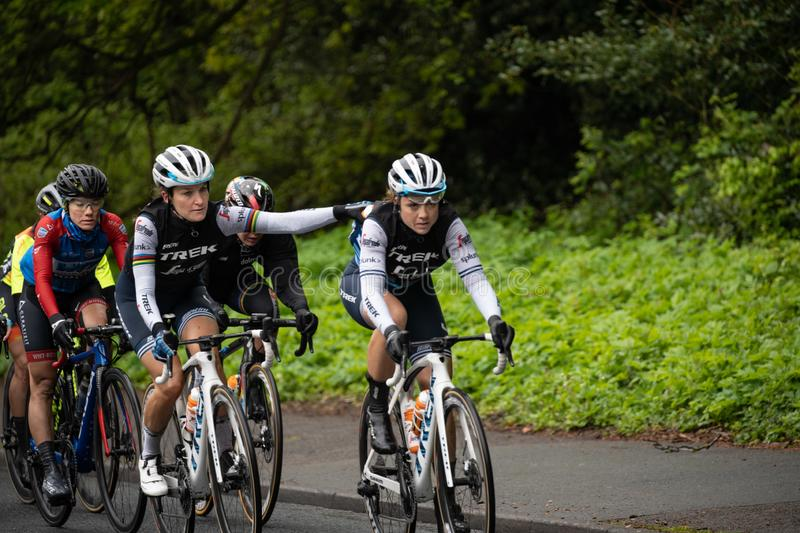 Lizzie Deignan British Professional Road Racing Cyclist. royalty free stock photos