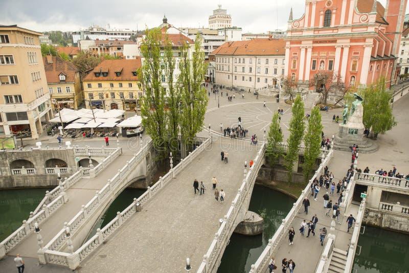 ljubljana Словения стоковые изображения
