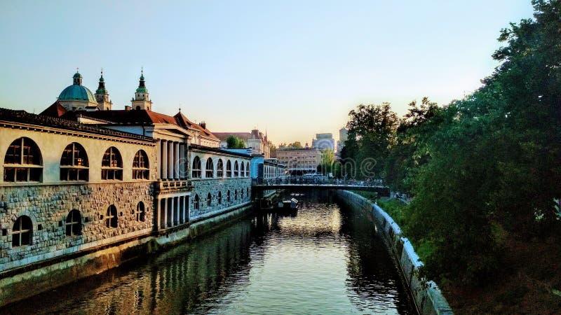ljubljana fotografía de archivo libre de regalías