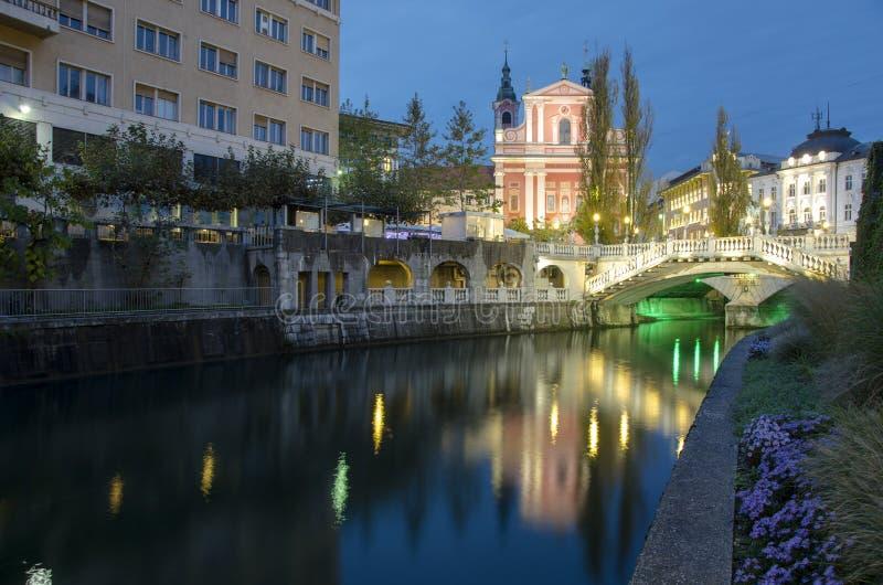 Download Ljubljana stock photo. Image of medieval, lights, historic - 27532218
