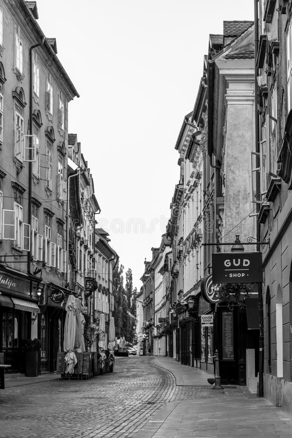 ljubljana photographie stock libre de droits