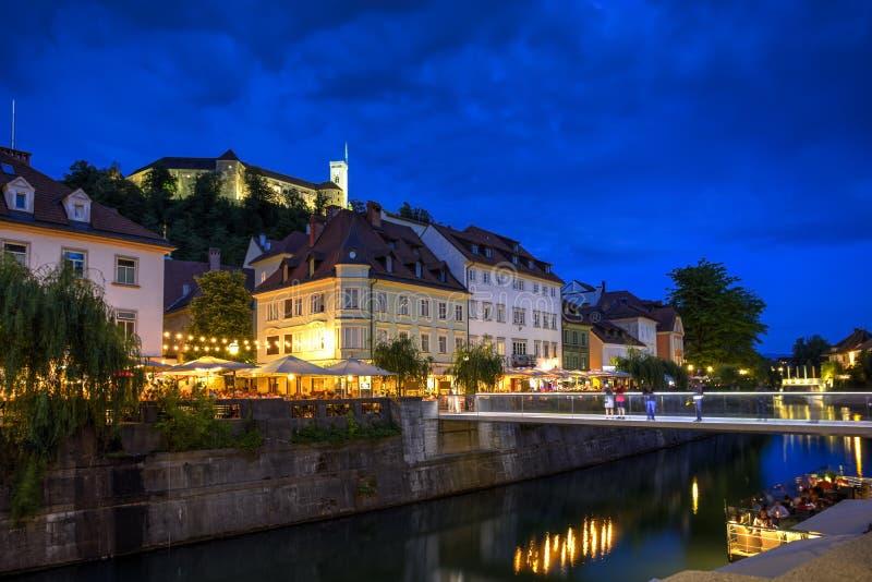 Ljubljana city, Slovenia royalty free stock image