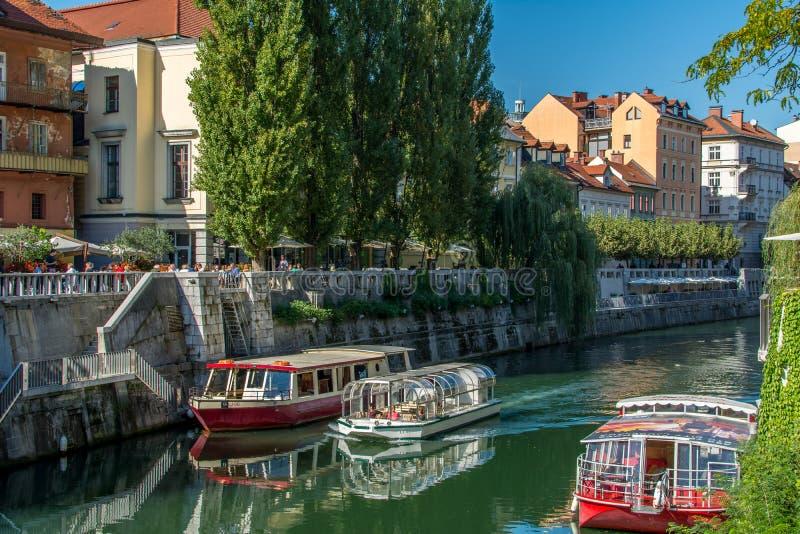 Ljubljana Eslovênia foto de stock royalty free