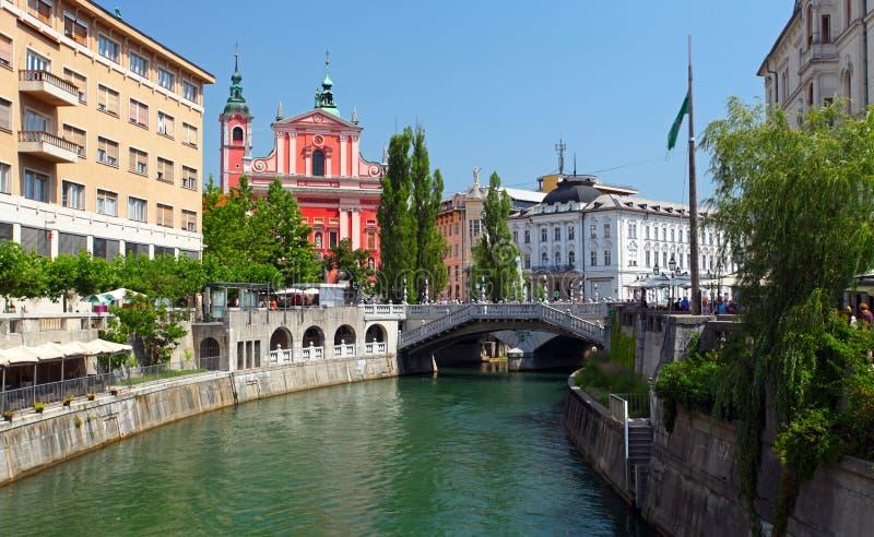 Ljubljana - la Slovénie image libre de droits