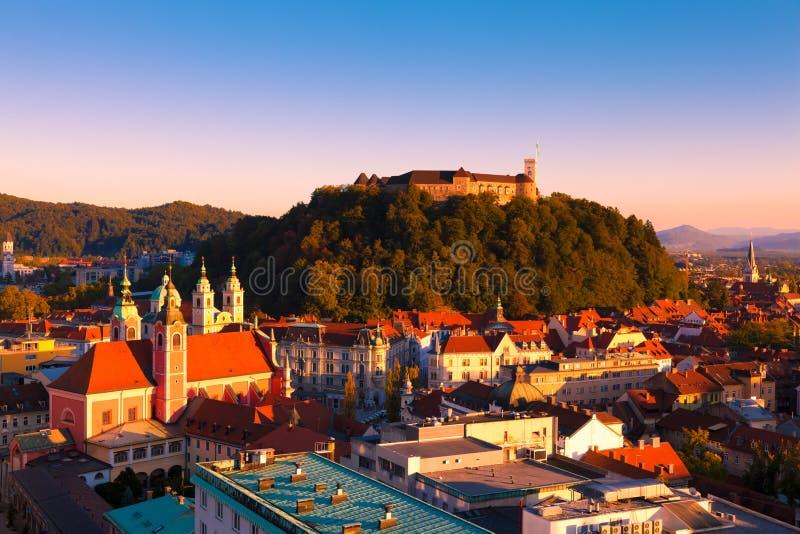 Ljubljana, Slovénie photos stock