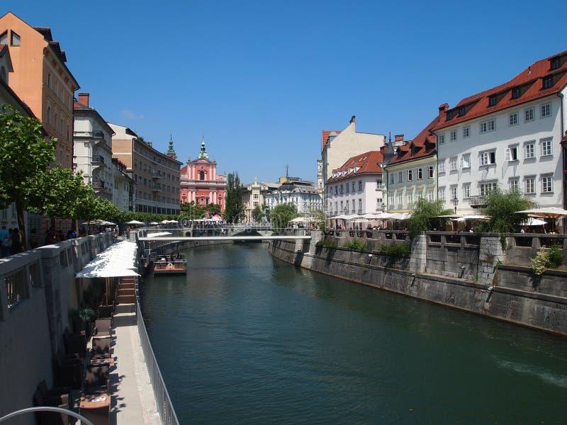 Ljubljana, Slovénie photographie stock libre de droits