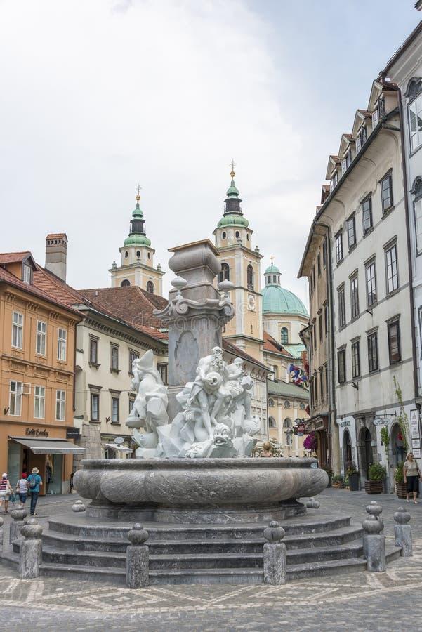 Ljubljana, Slovenië royalty-vrije stock afbeeldingen