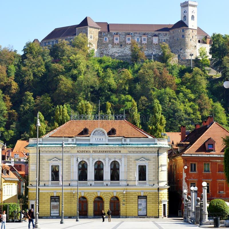 Ljubljana, Slovenië royalty-vrije stock foto