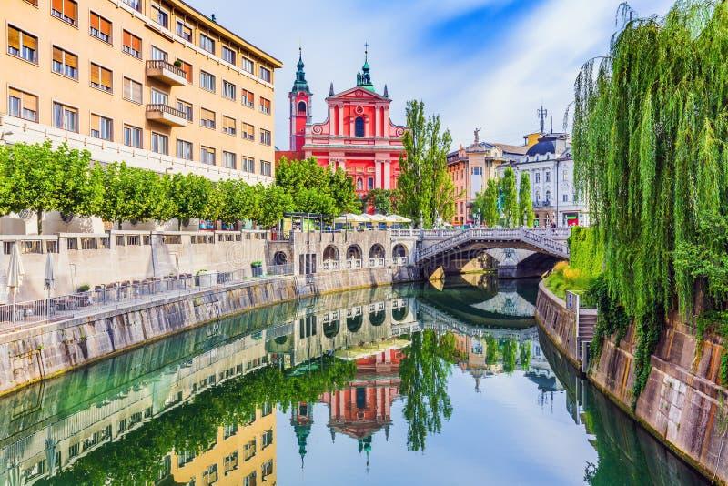 Ljubljana, Slovenië royalty-vrije stock fotografie