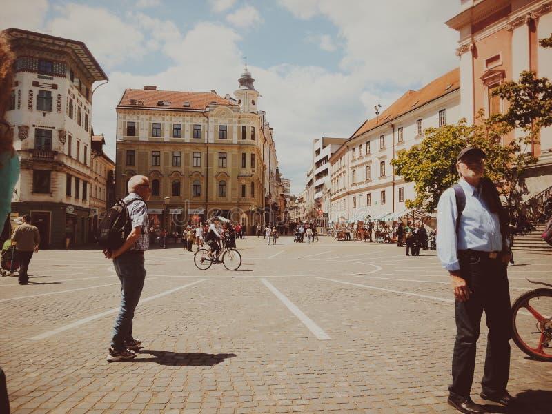 ljubljana Slovenia zdjęcie stock
