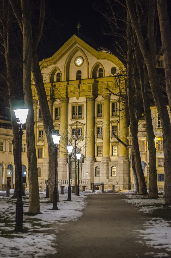 Download Ursuline Church In Ljubljana Editorial Stock Photo - Image: 30071063