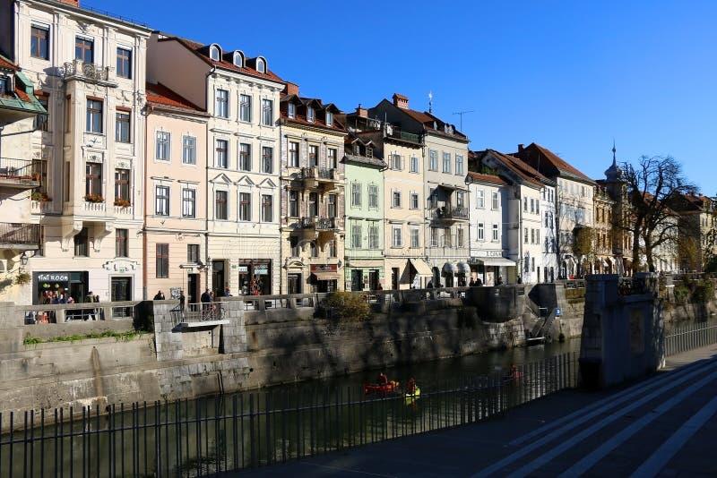Ljubljana, Slovenia stock photography
