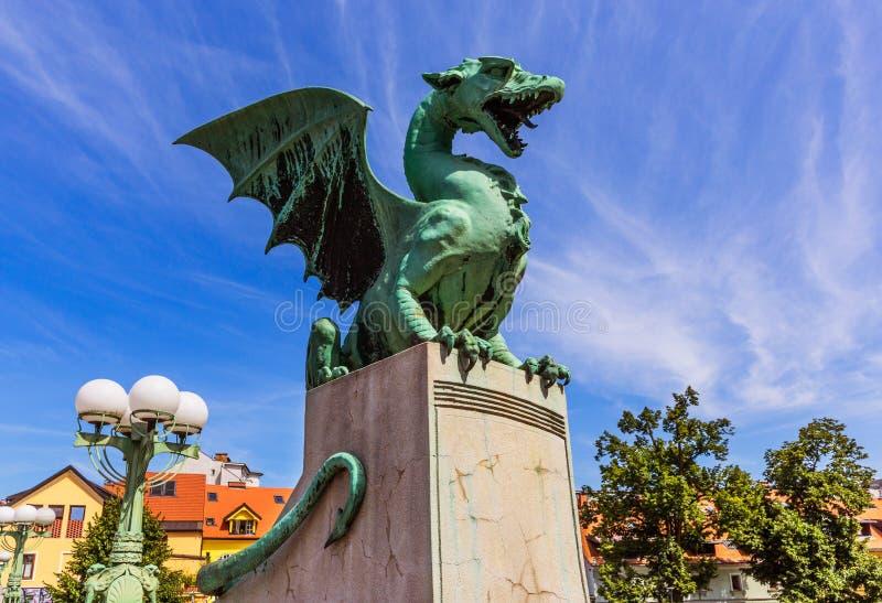 Ljubljana, Slowenien stockbild
